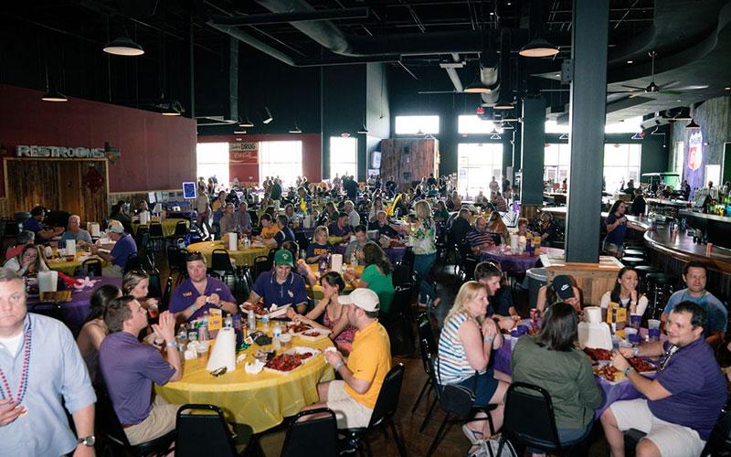 College Events |CAJUN CRAWFISH COMPANY | Dallas' #1 Cajun Catering Company Since 1998